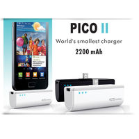 Portronics Pico II Charger 2200mAH Wireless USB Emergency Charger For Mobile