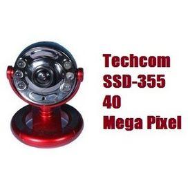 Techcom SSD-355 40 Mega Pixel WebCam With Mic, Night Vision & 6 White Led Lights