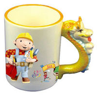 Personalized Photo Mugs Animal handle pet mug