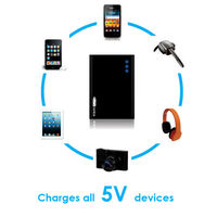 PORTRONICS powerbank charge one Smallest Portable 5200mah IPAD IPHONE SAMSUNG Blackberry