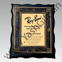 1 pc Laser Engraved Wooden Plaque with antique look