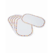Corelle Livingware Hot Dots Placemat 6 PCs Set Placemat