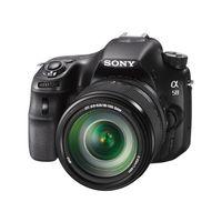 Sony SLT-A58M DSLR (with 18-135 mm Kit),  black
