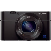 Sony RX100M III,  black