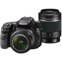 Sony SLT-A58Y DSLR (With SAL18552 & SAL55200 Lens),  black