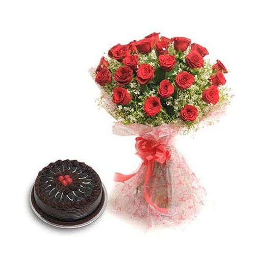 Roses N Chocolaty Love