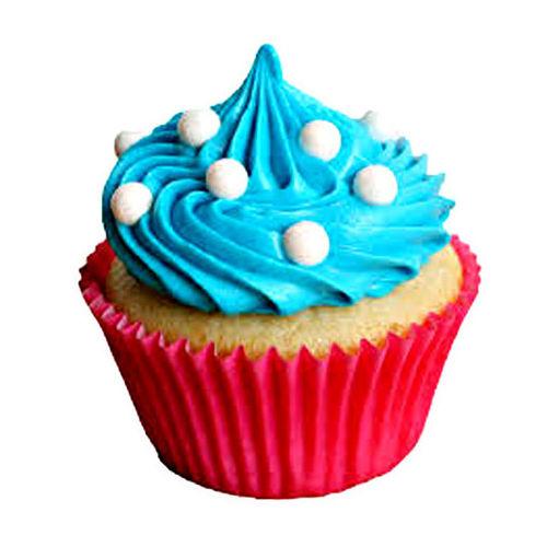 Blue Coffee Cupcakes