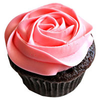 Delicious Rose Cupcakes