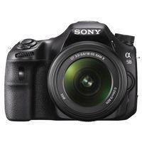 Sony SLT-A58K DSLR (With 18-55 mm Kit),  black