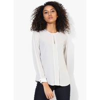 Dorothy Perkins Solid Blouse,  grey, 14