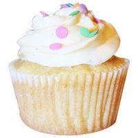 6 Vanilla Bean Cupcakes
