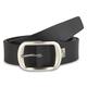 Dandy Black Leather Belt