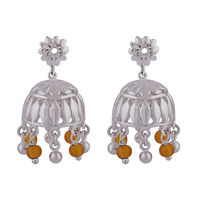 MultiColor Dome Jhumka Earrings-ER075