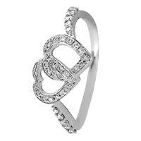 Forever Love Diamond Ring-RRI00489, 18 kt, si-jk, 12