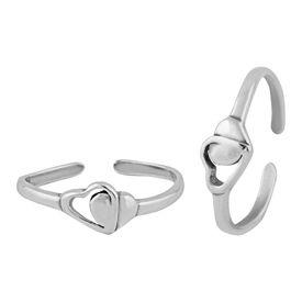 Fix Heart Toe Ring-TRMX093