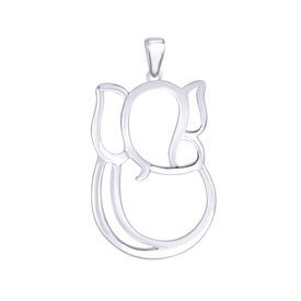 My Friend Ganesha Silver Pendant-PD149