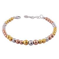 Spotlight Beads Silver Bracelete-BR030