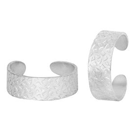 Glow Silver Toe Ring-TRRD025