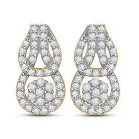 Edgy Diamond Earrings- AMPS0202ER