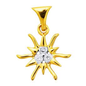 Sun Diamond Pendants- DAP125