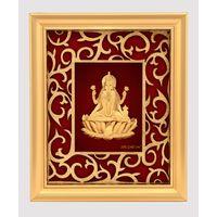 Godess Laxmi Gold Leaf Frame-GF003