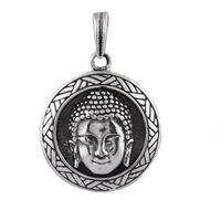 Buddha Ji Silver Pendant-PDMX035