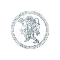 Hanuman 10 Grams 999 Silver Coin-C05G10
