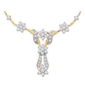 Lina Bloom Diamond Mangalsutra- GUTS0071T