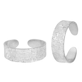 Classy Sterling Silver Toe Ring-TRRD005