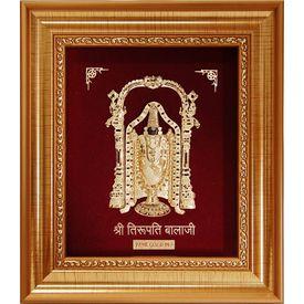 Tripuati Balaji Golden Frame-GF010