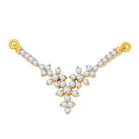 Kashvi Diamond Mangalsutra- BATS51T