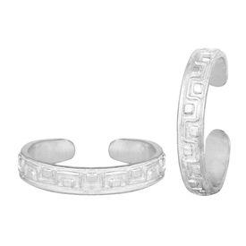 Pleasing Designer Silver Toe Ring-TRRD045
