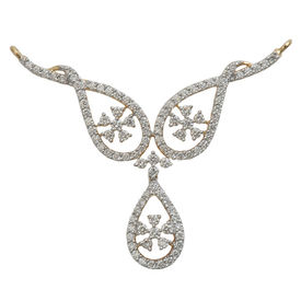 Dew Drops Diamond Mangalsutra- GUTS0111T