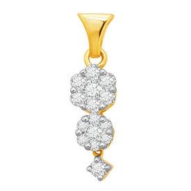 Sway Bloom Diamond Pendant- BAPS227P