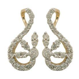 Vibrant Diamond Earrings- BAPS0952ER