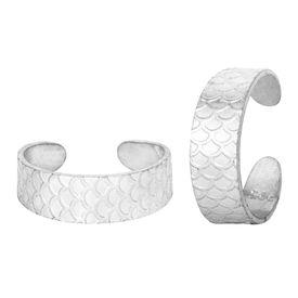 Fine Cast Silver Toe Ring-TRRD018