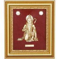 Hanuman Ji Gold Leaf Frame-GF016
