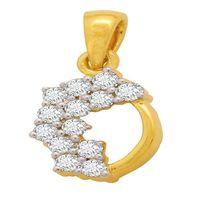 Glow Diamond Pendant- BAP0703, si - ijk, 14 kt