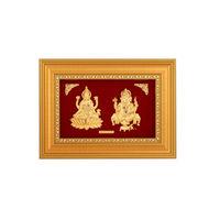 Laxmi Ganesh Ji Golden Frame-GF006