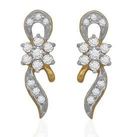 Interwined Diamond Cuffs- BAER0677