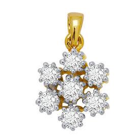 Flower Diamond Pendant- GUPS0031P