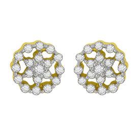 Sweet Circle Diamond Studs- GUER0253