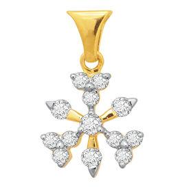 Snowflake Diamond Pendant- BAPS229P