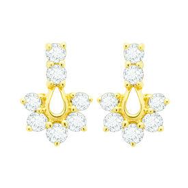 Royal Diamond Earrings- BAER465