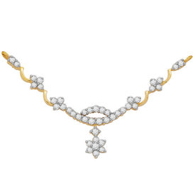 Prachi Diamond Mangalsutra- GUTS0072T