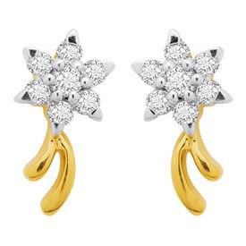 Fantasy Studs Diamond Earrings- BAPS217ER