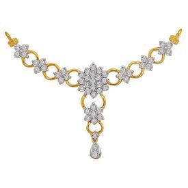Circular Interlinked Diamond Mangalsutra- GUTS0076T
