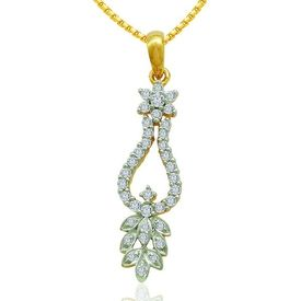 Grace Diamond Pendants- BAP0419