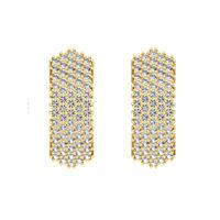 Grace Shine Diamond Earrings-RBL0055, vs-gh, 18 kt
