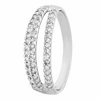 Cutwork Designer Finger Ring-RRI00410, 18 kt, vvs-gh, 12